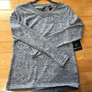 Cute exercise/lounging top
